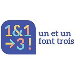 logo 1 et 1 font trois - conseiller ressources humaines