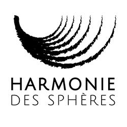 Logo harmonie des sphères bols chantants