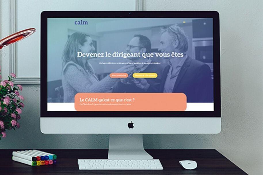 Création de site Internet pour le club d'entrepreneurs CALM