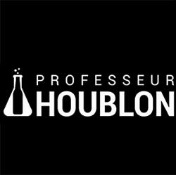 Logo professeur houblon - bière artisanale