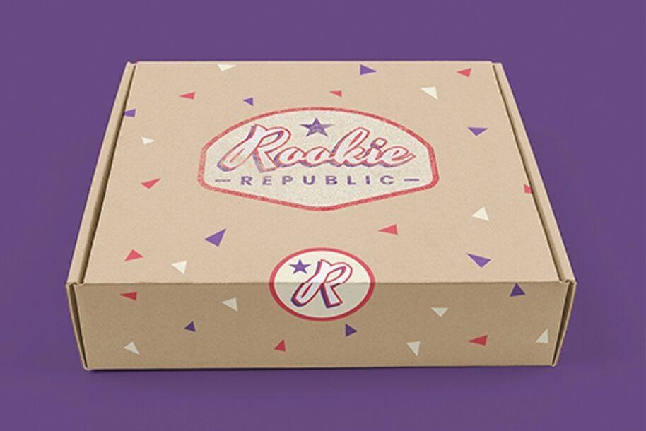 Création de marque Rookie Republic - maillots de sport US vintage