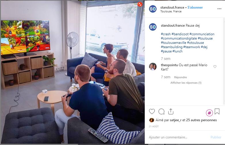 Marque Employeur sur Instagram