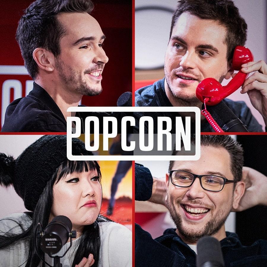 émission gaming pop corn