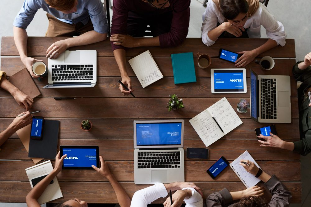 teamwork - digital marketing - objectifs marketing - marketing d'influence