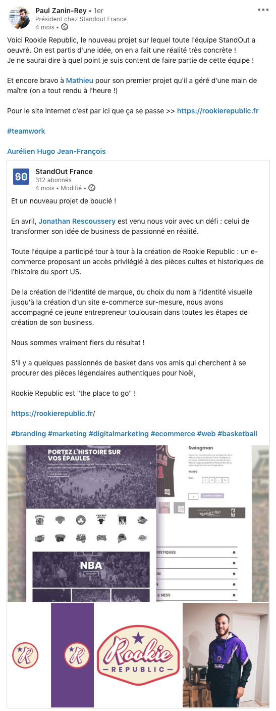 StandOut France - culture d'entreprise