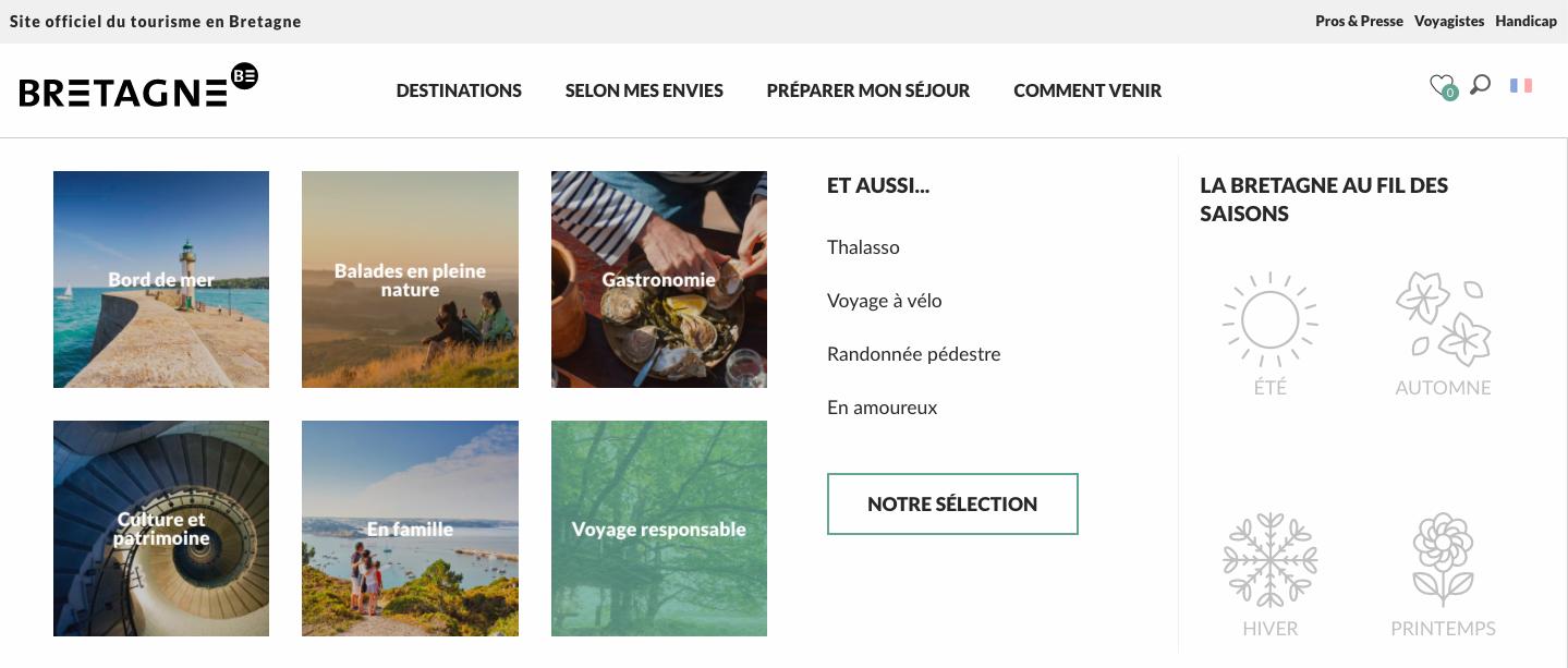 voyager responsable en Bretagne - tourisme Bretagne - inbound marketing tourisme