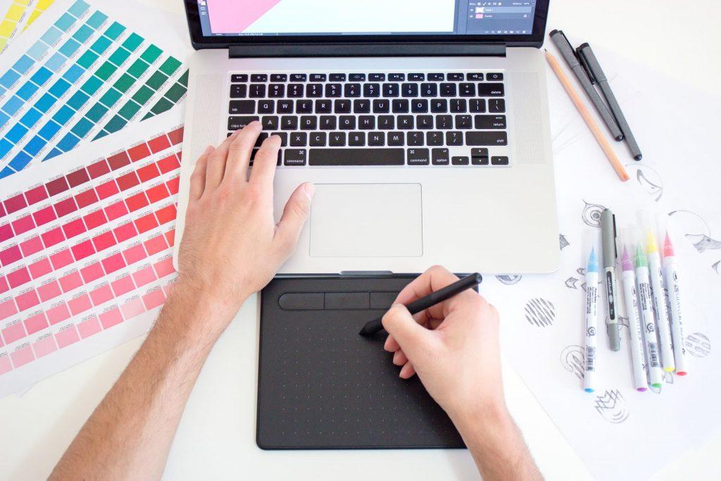 Création du web design d'un site