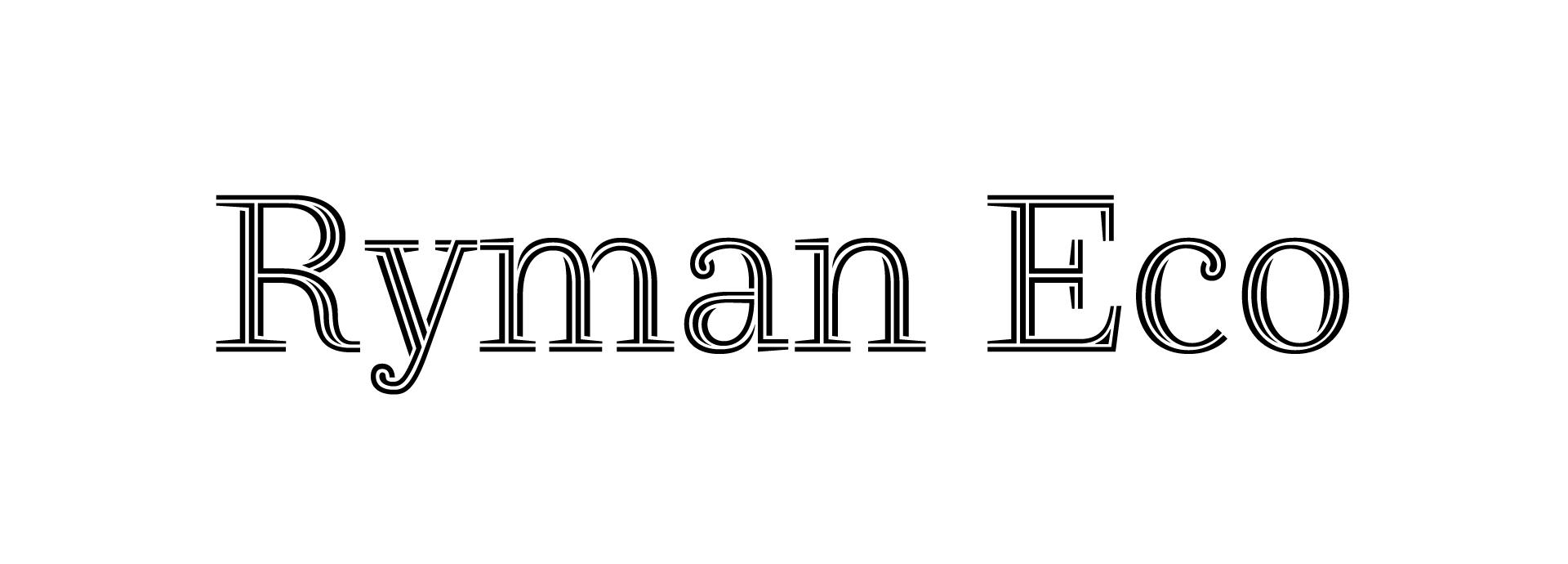 éco typographie
