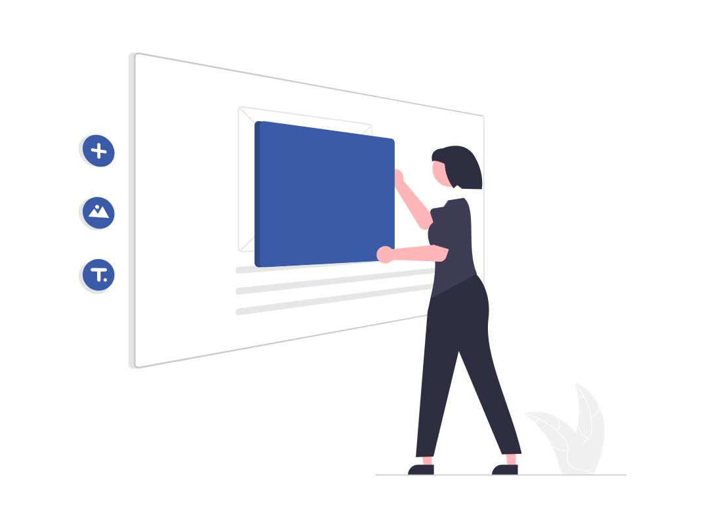 le visual builder, une solution simple pour créer une page web